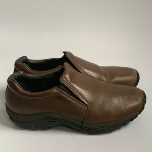 Merrell brown leather shoes 9